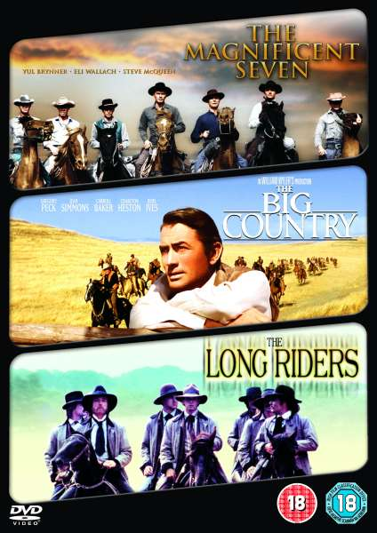 Magnificent Seven/ The Big Country/ The Long Riders DVD ...