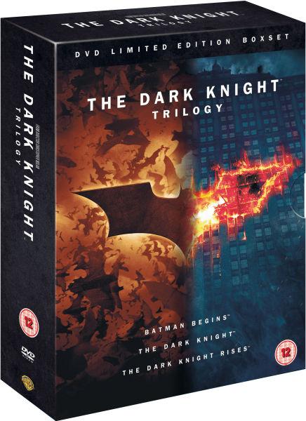 The Dark Knight Trilogy Includes Ultraviolet Copy Dvd