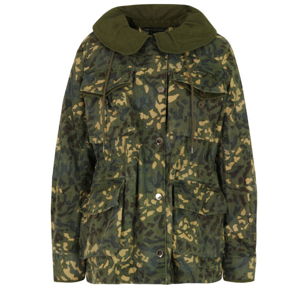 Marc by Marc Jacobs Women's 504 Forks Forest Night Parka - Multi