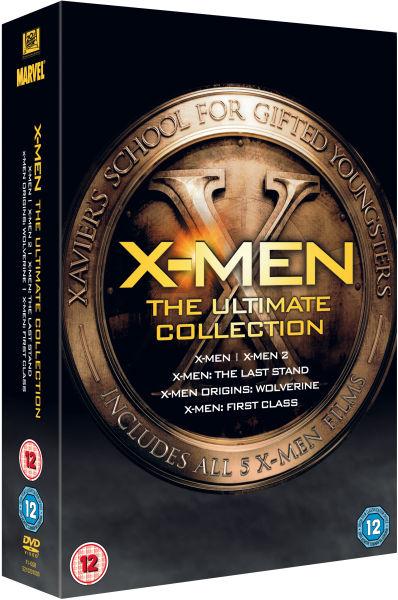 X Men Ultimate Collection Dvd Zavvi