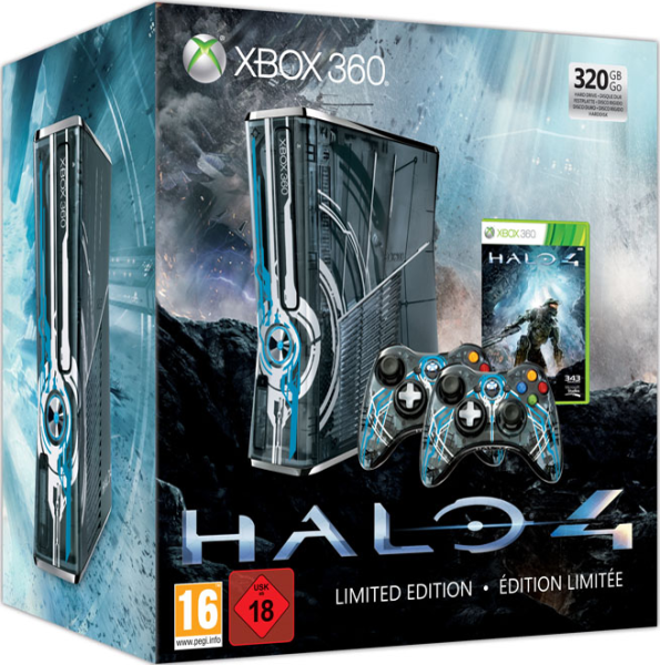 Home Design Games For Xbox 360: Halo 4 Xbox 360 320GB Console: Limited Edition Games
