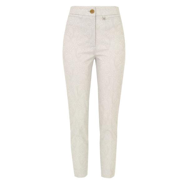 Vivienne Westwood Red Label Women's KA0123 Jacquard Trousers - Silver