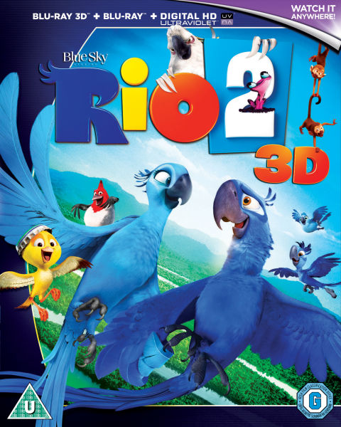 Rio 2 3d Includes Ultraviolet Copy Blu Ray Zavvi