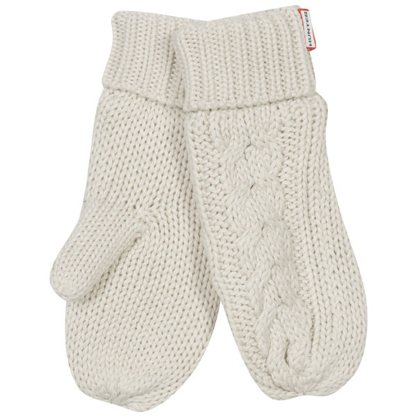 Hunter Women's Cable Mittens