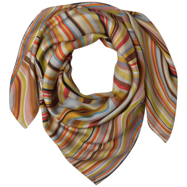 Paul Smith Accessories Women's Large Swirl Silk Scarf - Multi
