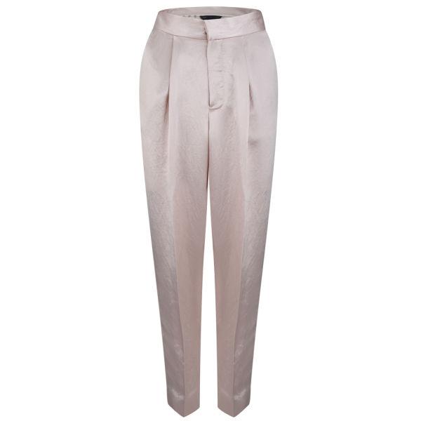 Marc by Marc Jacobs Women's Pleat Front Pants - Vintage Rose