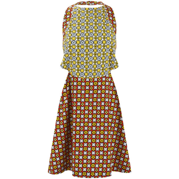 See by Chloe Women's Halter Neck Floral Dress - Multi