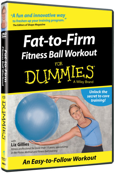 Fat To Firm Fitness Ball Workout For Dummies 119