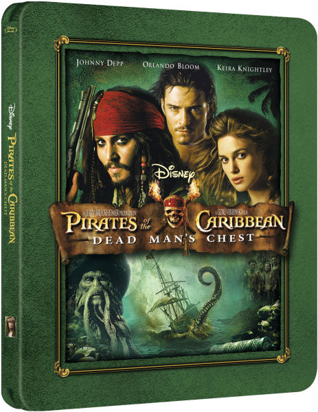 Pirates of the caribbean dead mans chest book report