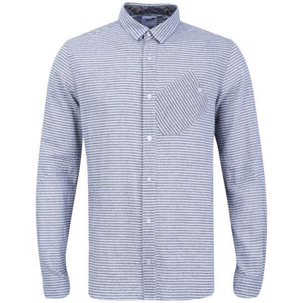 Boxfresh Men's Caely Shirt - Charcoal Stripe