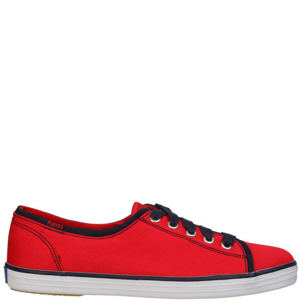 Keds Women's New Lace To Toe Pumps - Red Canvas