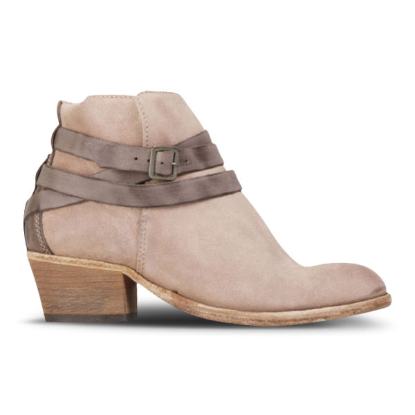 H Shoes by Hudson Women's Horrigan Suede Ankle Boots - Blush