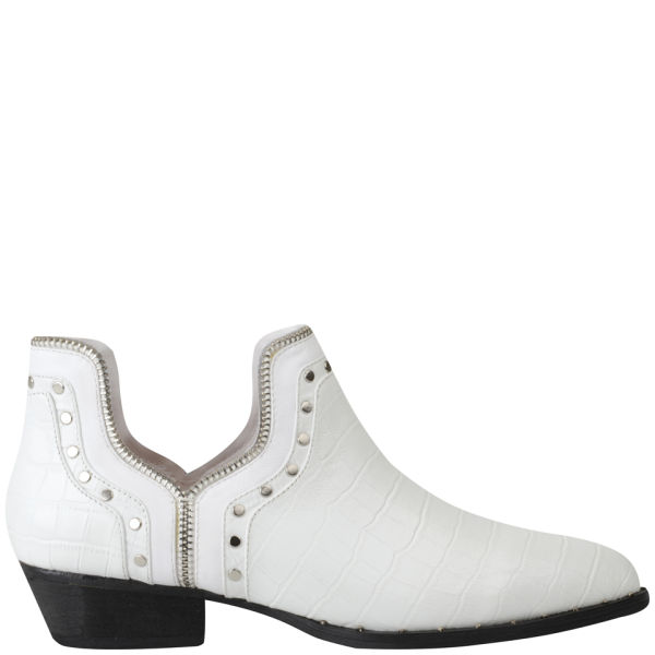 Senso Women's Benny II Ankle Boots - White