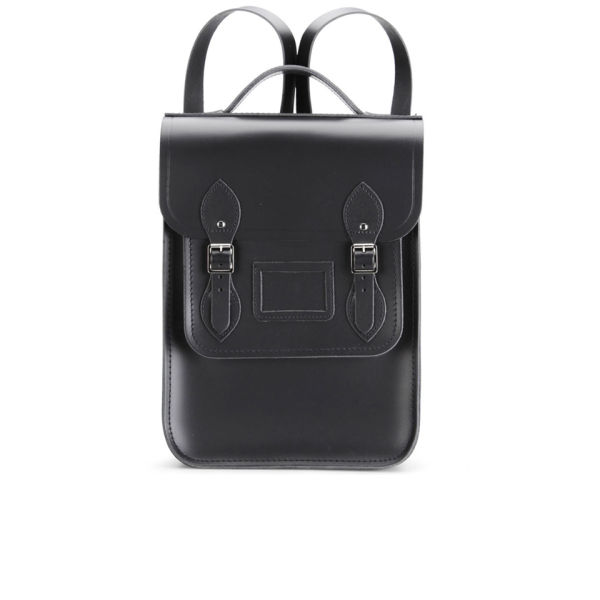 The Cambridge Satchel Company Portrait Leather Backpack - Black