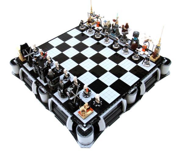 Star Wars 3d Chess Set Toys