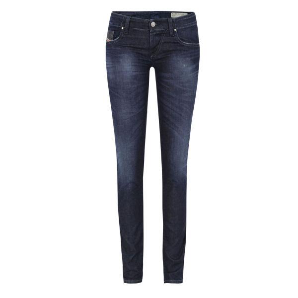 Diesel Women's Grupee 800V Denim Jeans - Dark Wash