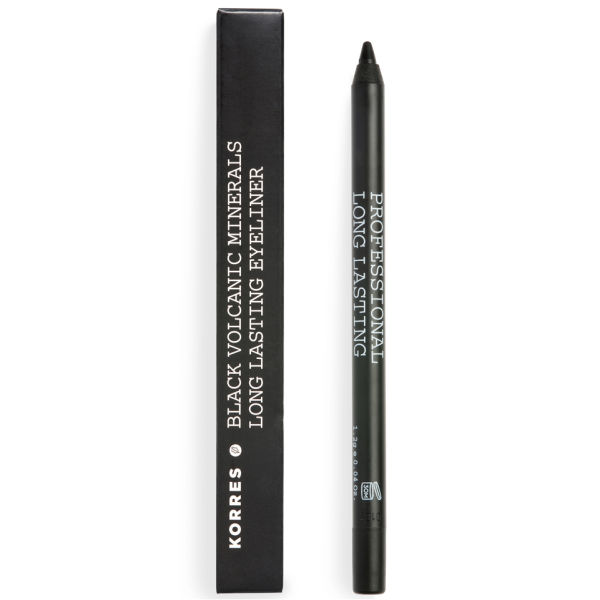 Crayon yeux Korres Long-Wear Mineral - Noir