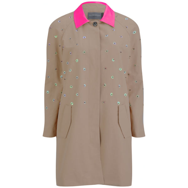 Antipodium Women's World Clique Coat - Pink Sand