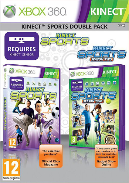 Back to previous page Home Kinect Sports: Double Pack