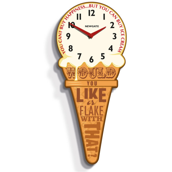 Ice-Cream Cone Clock - Medium
