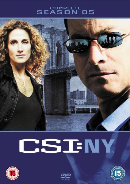 Csi New York Complete Season 5 Dvd Zavvi