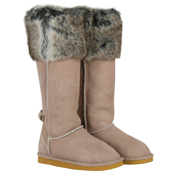Love From Australia Women's Tall Foxy Zip Boots - Taupe