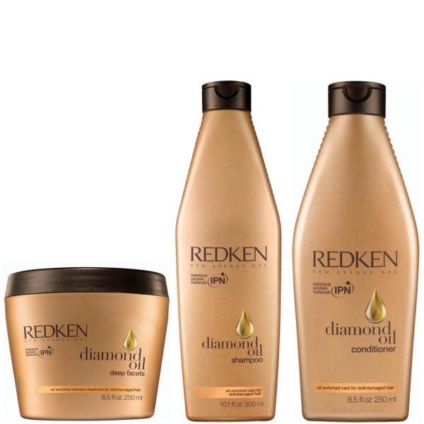 Redken Diamond Oil Care Pack