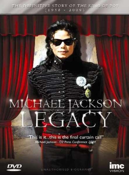Michael Jackson Legacy Dvd Zavvi
