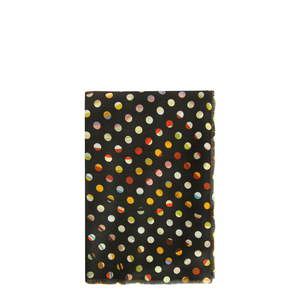 Paul Smith Accessories Women's 254B-S403 Double Faced Scarf - Dotty Swirl