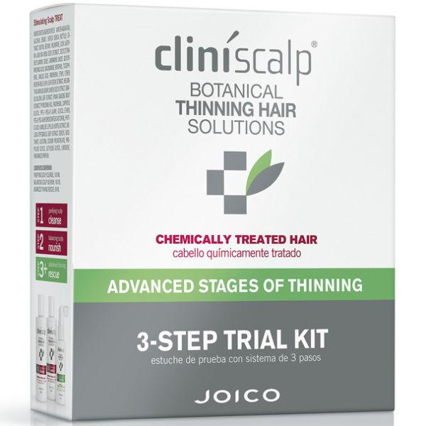 Joico Cliniscalp Testpaketfür chemisch behandeltes Haar infortgeschrittenen Stadien