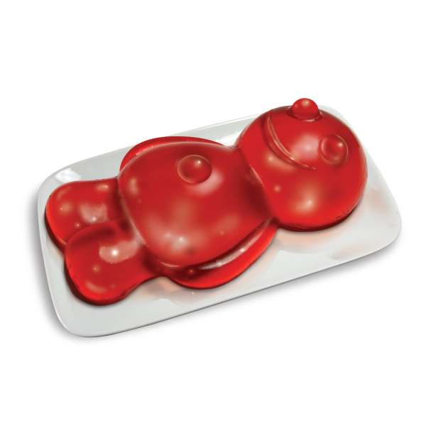 Jelly Baby Gift Ideas : Giant jelly baby mould iwoot