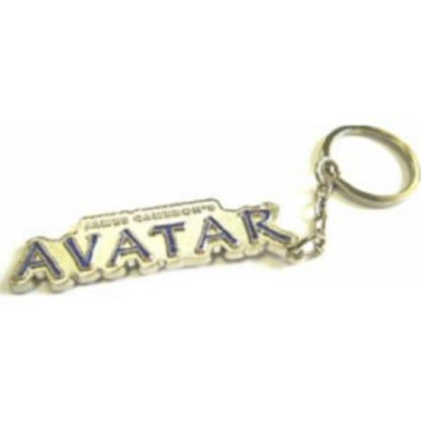 Avatar Movie Logo: Avatar Metal Glow In The Dark Movie Logo Keychain Gifts