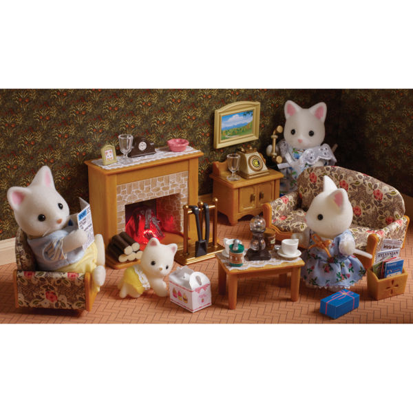 Sylvanian Families Country Living Room Set Toys