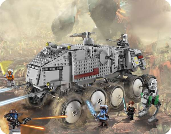 Lego Star Wars Clone Turbo Tank 8098 Toys Zavvi