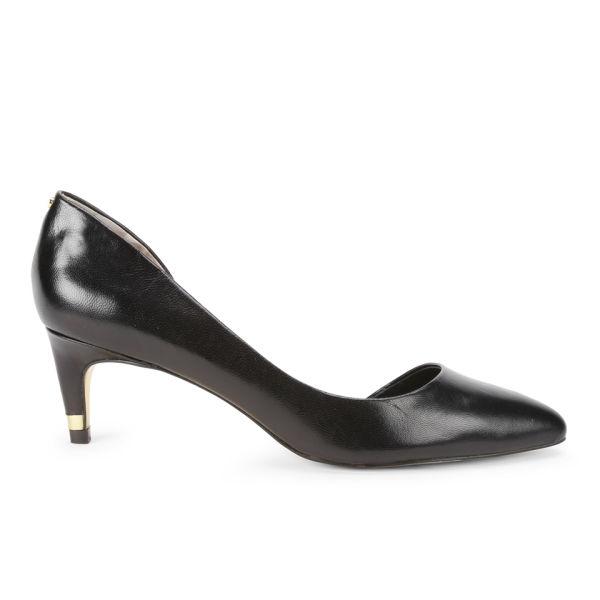 Ted Baker Women's Zenadia Leather Kitten Heels - Black