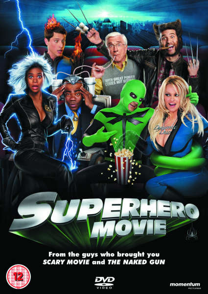 Superhero Movie Dvd Zavvi
