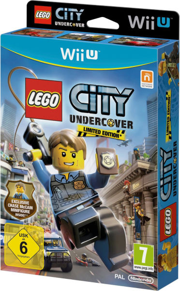 Lego City  Undercover - Limited Edition with Chase McCain MinifigureLego City Undercover Chase Mccain Civilian