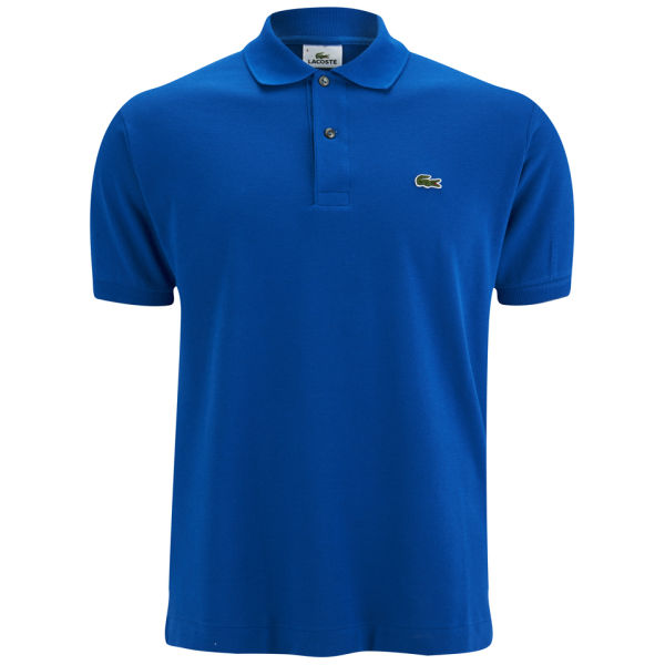 Lacoste men 39 s polo shirt royal blue clothing for Lacoste size 4 polo shirt