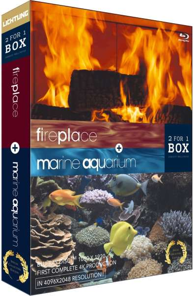 Aquarium And FirePlace Special Collectors Edition Blu