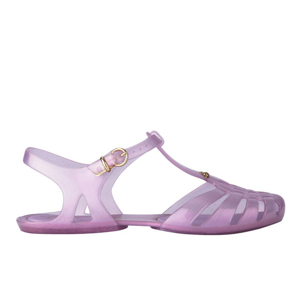 Vivienne Westwood for Melissa Women's Aranha Hits Jelly Sandals - Rose Glitter