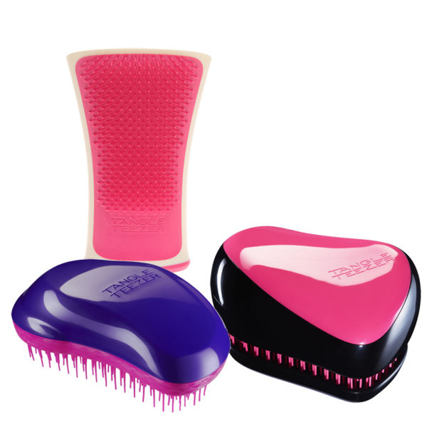 Tangle Teezer 3 Steps to Perfect Hair (Prep, Preen and Polish - Pink)
