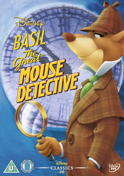 Basil The Great Mouse Detective DVD : Zavvi.com