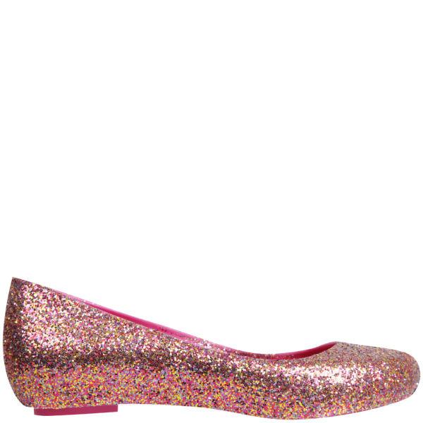 Melissa Women's Ultragirl Glitter Pumps - Pink