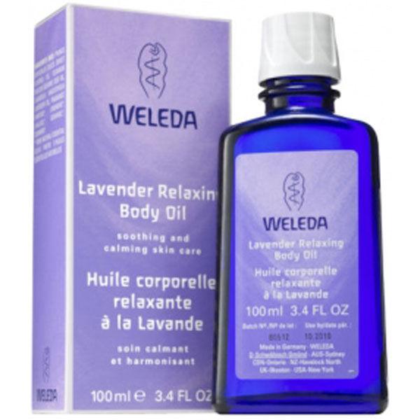 Weleda Lavender Relaxing Body Oil (100ml)