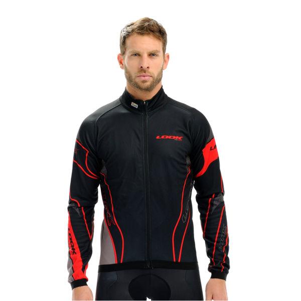 Look Pro Team Long Sleeve Jersey - Black/Red