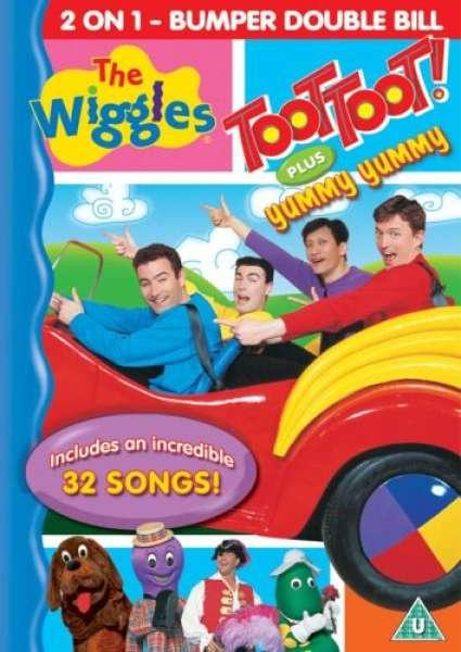 The Wiggles Toot Toot Yummy Yummy Dvd Zavvi