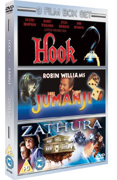 Jumanji Hook Zathura Dvd Zavvi