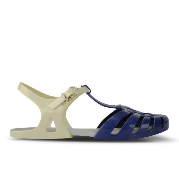 Melissa Women's Aranha Hits 11 Jelly Sandals - Navy Contrast