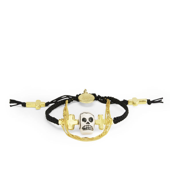 Venessa Arizaga Women's The Alamo Bracelet - Black/Gold