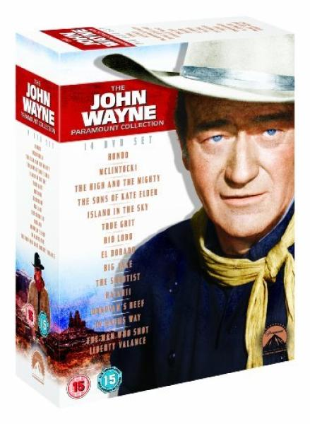 John Wayne Ultimate Collection Dvd Zavvi